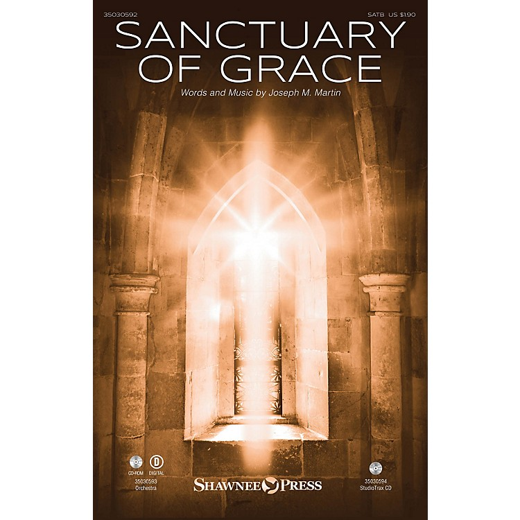 Shawnee Press Sanctuary of Grace Studiotrax CD Composed by Joseph M. Martin