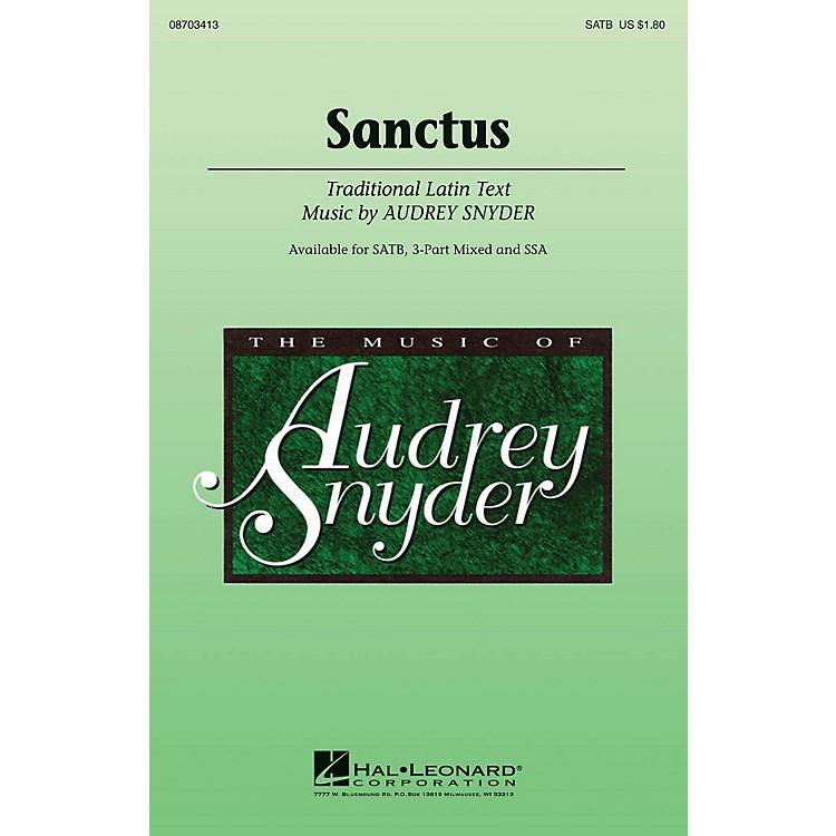 Hal LeonardSanctus SSA Composed by Audrey Snyder