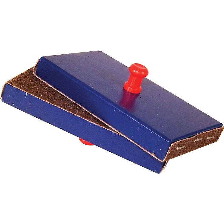 Rhythm Band Sand Blocks Red and Blue
