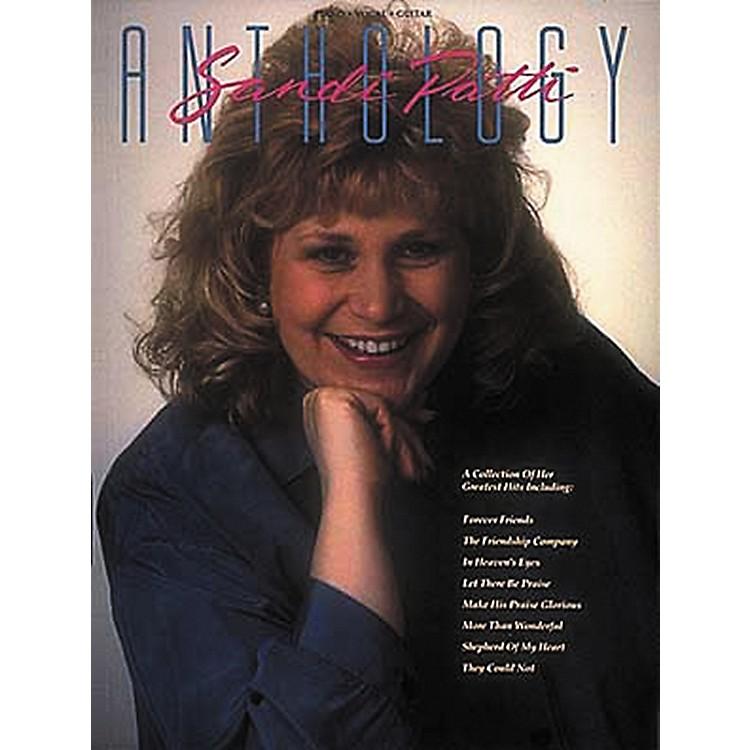 Hal LeonardSandi Patti Anthology Piano, Vocal, Guitar Songbook