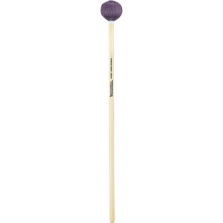 Innovative PercussionSandi Rennick Series Rattan Handle Vibraphone MalletsHardLight Purple Cord