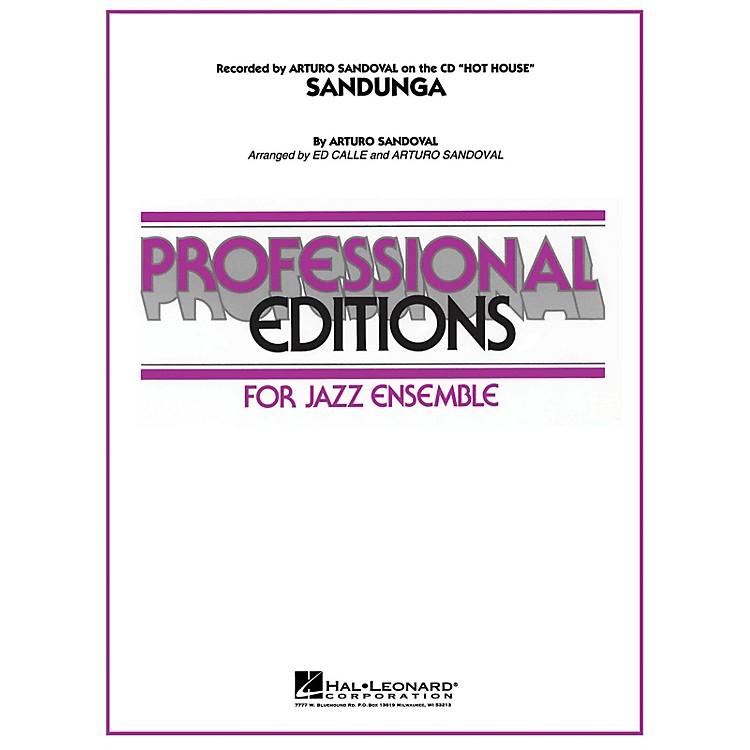 Hal LeonardSandunga Jazz Band Level 5-6 Arranged by Arturo Sandoval