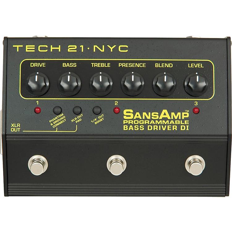Tech 21SansAmp 3-Channel Programmable Bass Driver DI
