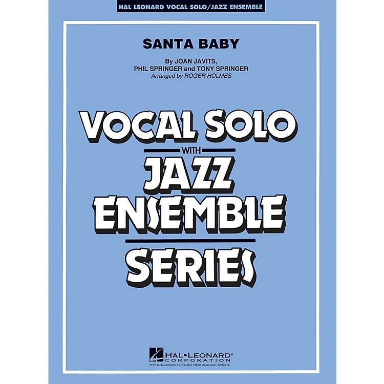 Hal LeonardSanta Baby - Vocal Solo Jazz Ensemble Series Level 4