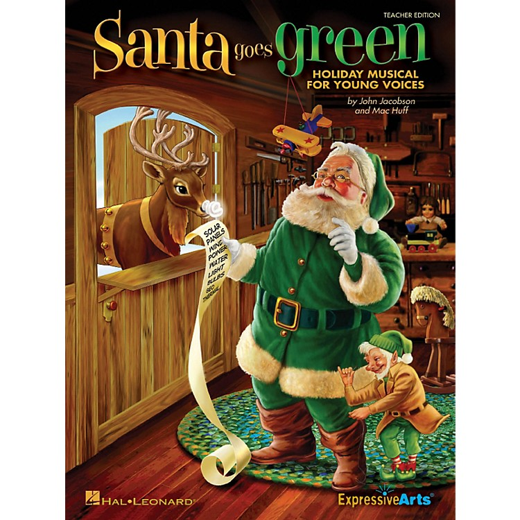 Hal LeonardSanta Goes Green (Holiday Musical for Young Voices) Singer 5 Pak Composed by John Jacobson