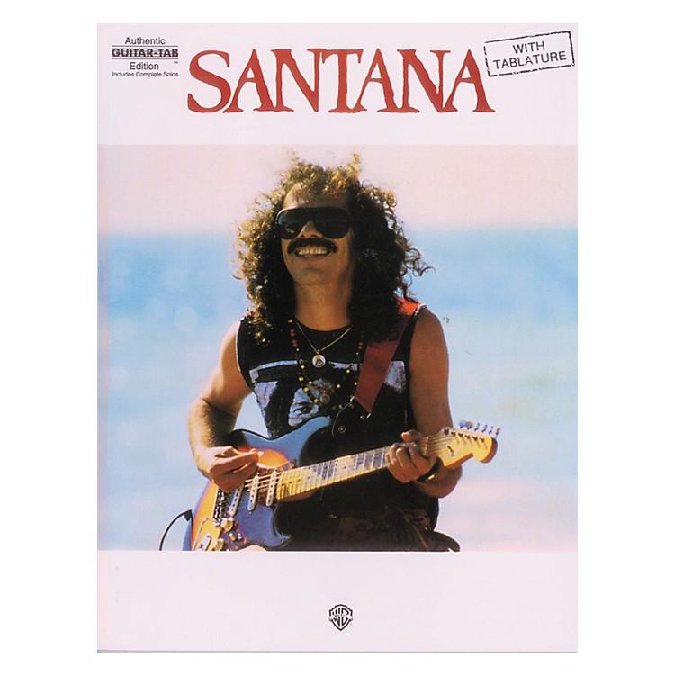 AlfredSantana Guitar Tab Book