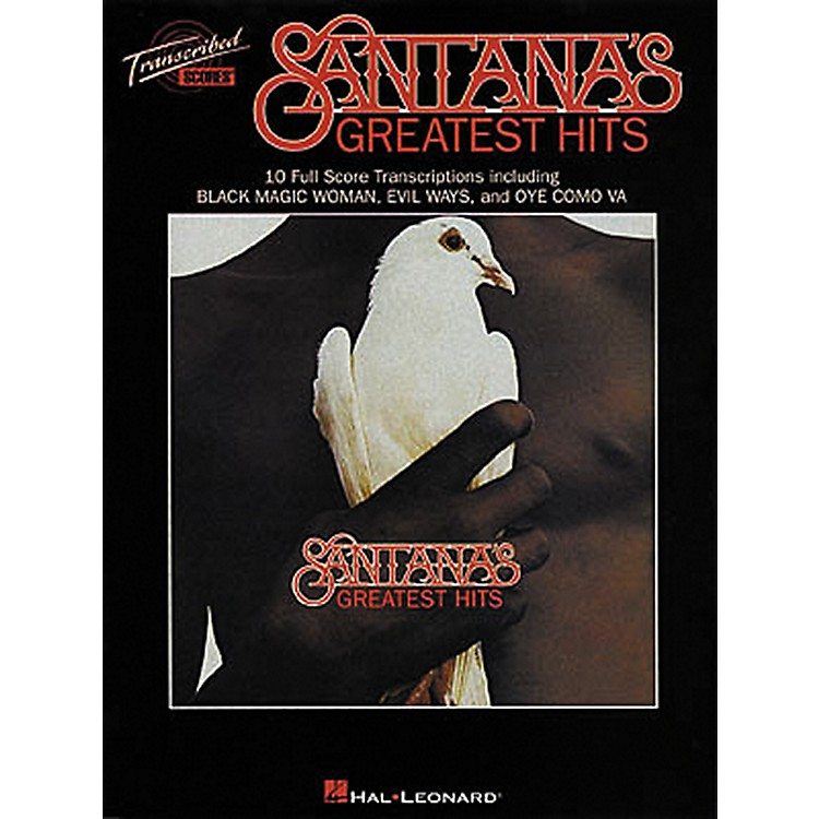 Hal LeonardSantana's Greatest Hits in Full Score