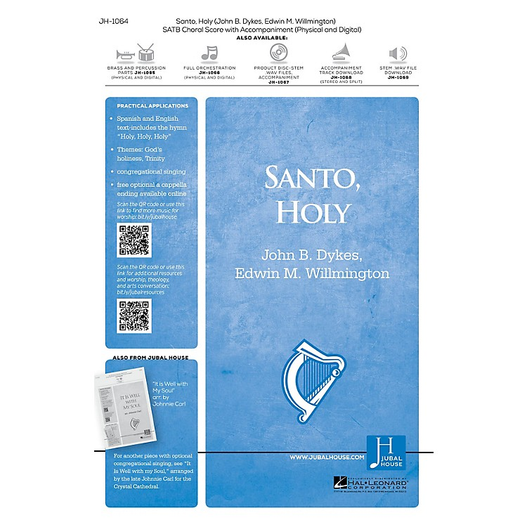 Jubal House PublicationsSanto, Holy SATB composed by Edwin M. Willmington