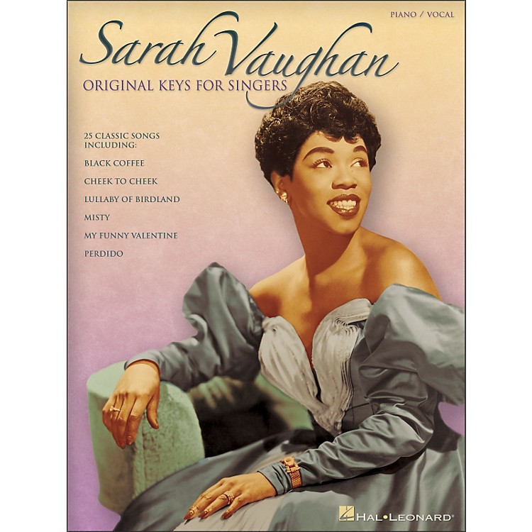 Hal Leonard Sarah Vaughan - Original Keys for Singers Vocal / Piano