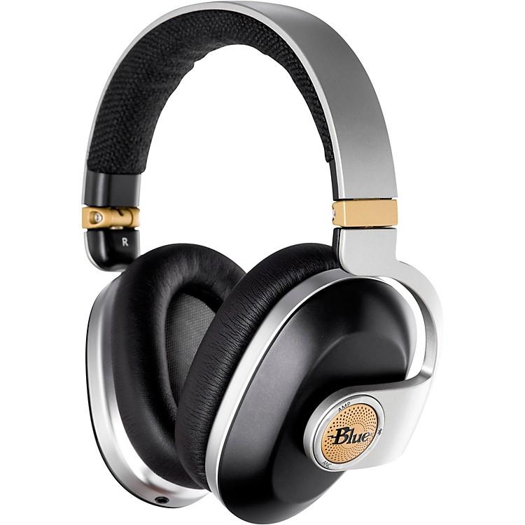 BLUESatellite Premium Noise-Cancelling Wireless Headphones with Built-In Audiophile AmpWhite