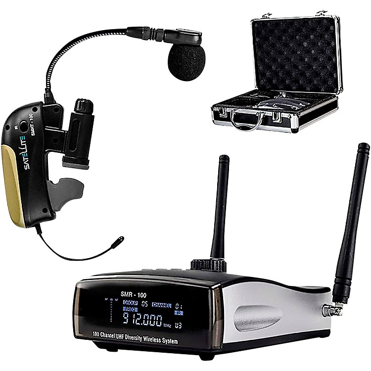 Nady Satellite SMHT-100 - 100-Channel True Diversity Wireless Instrument System for Saxophone and Horns