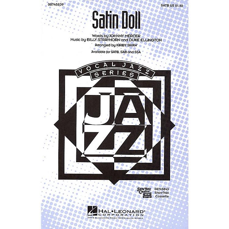 Hal LeonardSatin Doll SSA Arranged by Kirby Shaw