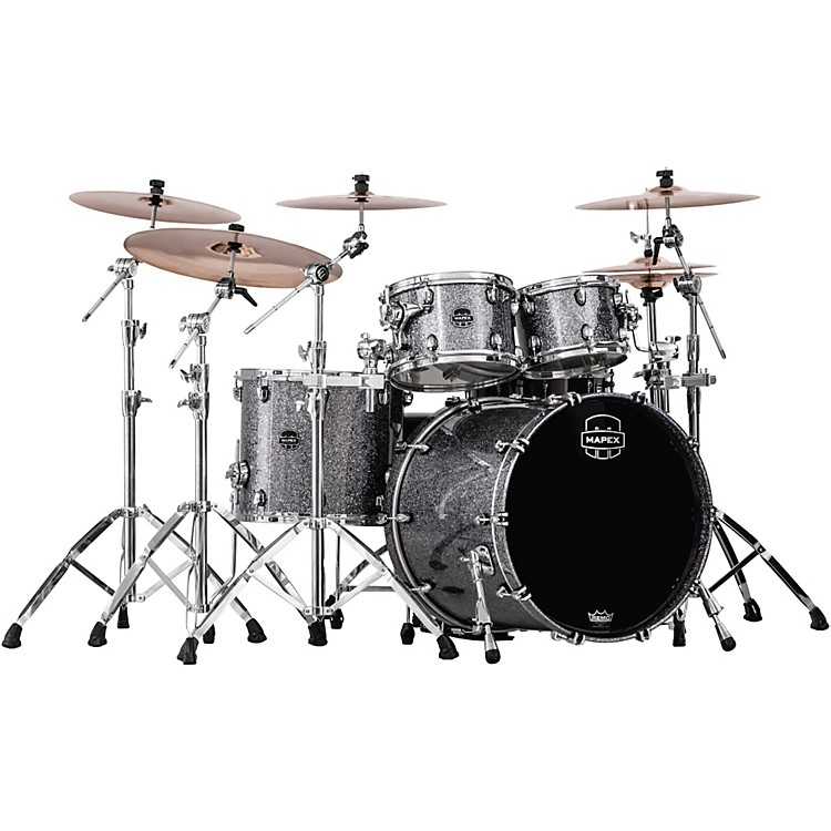 Mapex Saturn IV MH 4-Piece Rock Shell Pack Short Toms Deep Bass