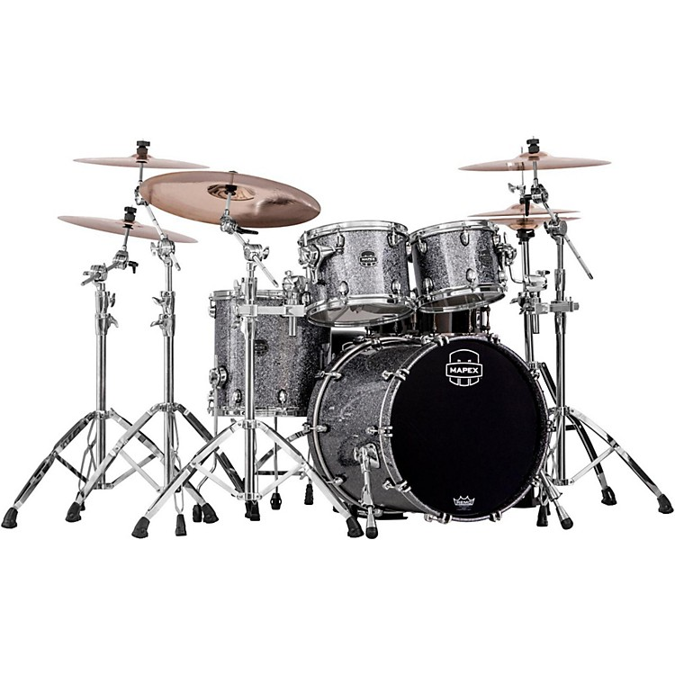 Mapex Saturn V 4-Piece Fusion Shell Pack Granite Sparkle