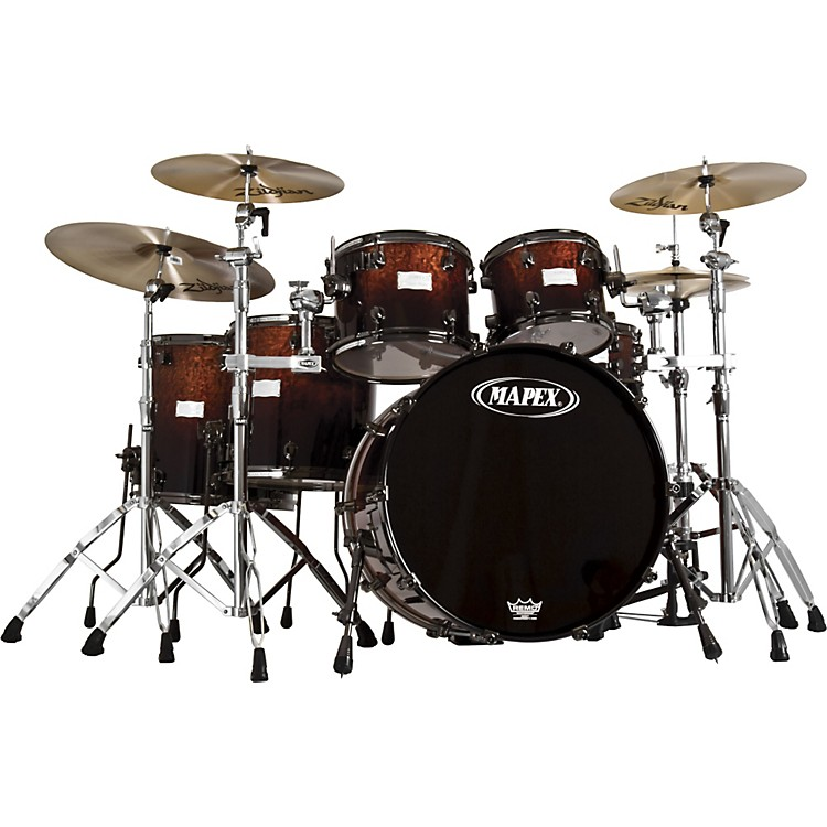 Mapex Saturn Walnut / Birch Limited Edition Shell Pack
