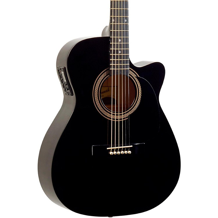 Savannah Savannah SO-SGO-10CE 000 Acoustic-Electric Guitar Black