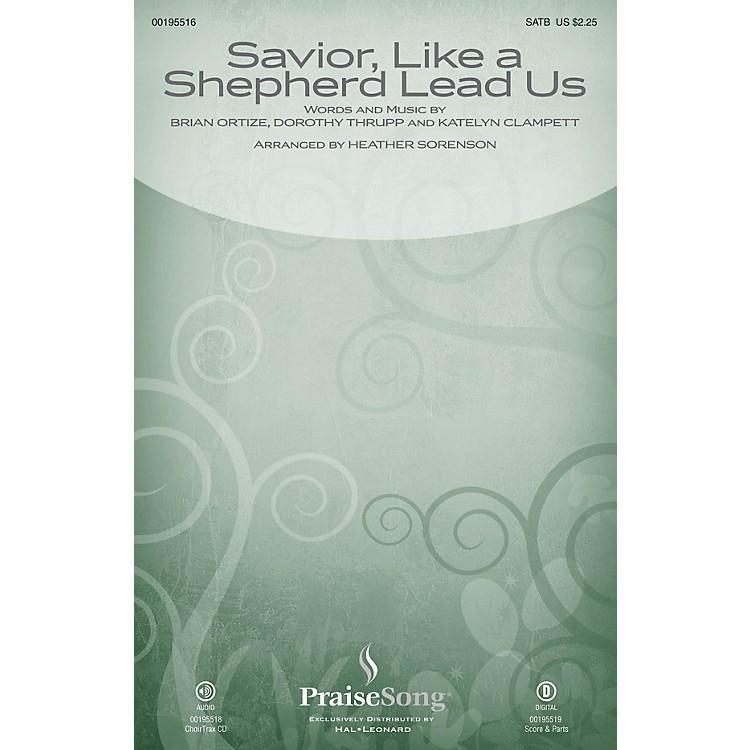 PraiseSongSavior, Like a Shepherd Lead Us (Blessed Jesus) CHOIRTRAX CD by Leigh Nash Arranged by Heather Sorenson
