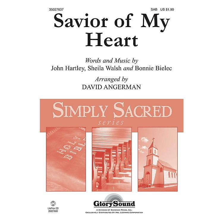 Shawnee PressSavior of My Heart SAB arranged by David Angerman