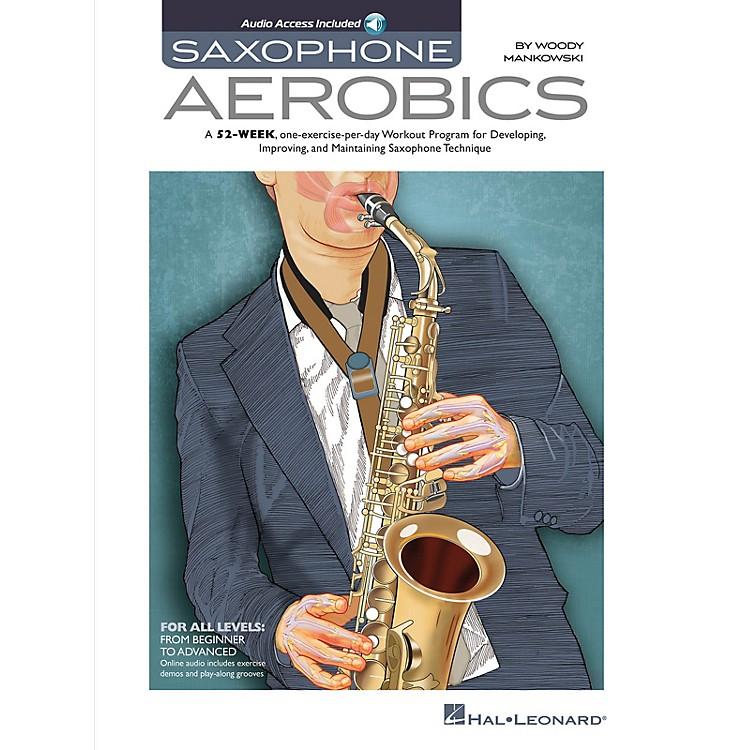 Hal LeonardSaxophone Aerobics Sax Instruction Series Softcover Audio Online Written by Woody Mankowski