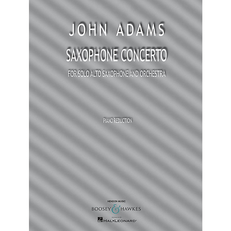 Boosey and Hawkes Saxophone Concerto Boosey & Hawkes Chamber Music Series Book