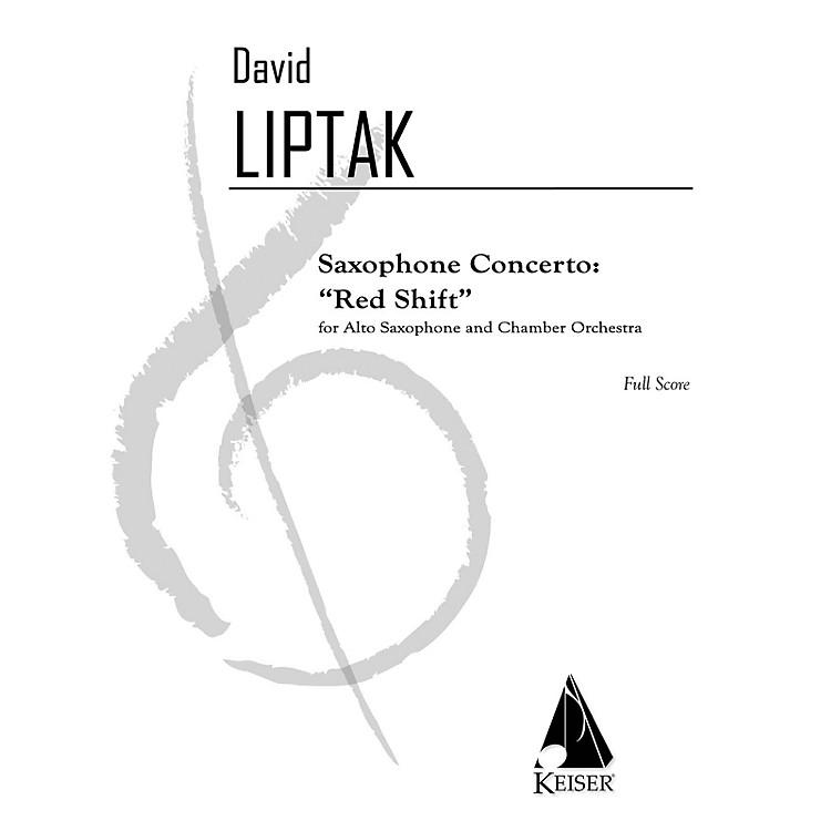 Lauren Keiser Music PublishingSaxophone Concerto: Red Shift LKM Music Series  by David Liptak