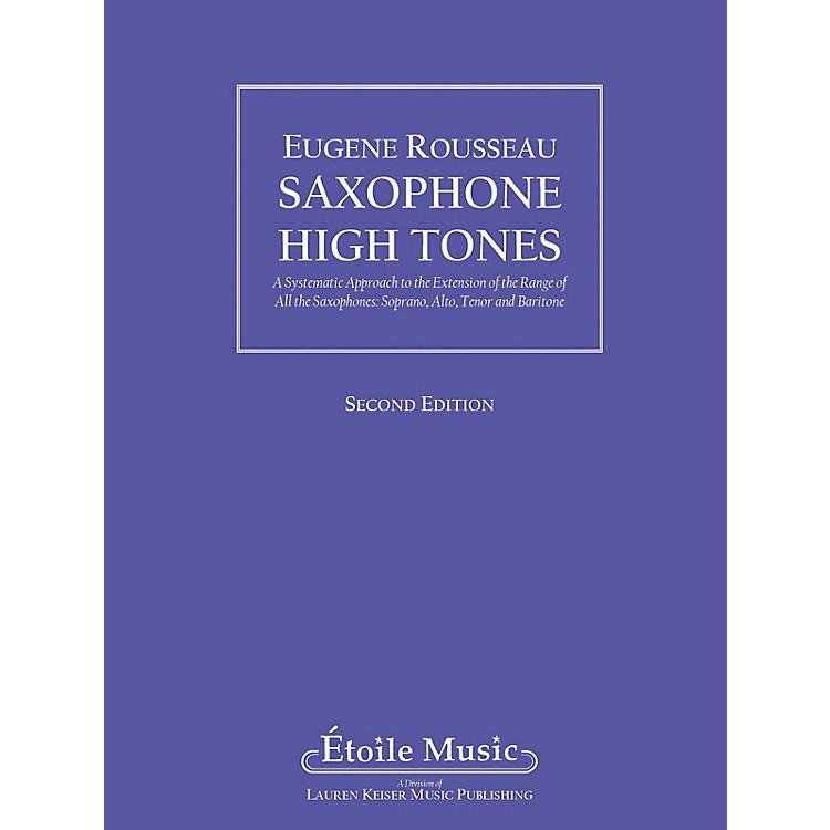 Lauren Keiser Music PublishingSaxophone High Tones LKM Music Series