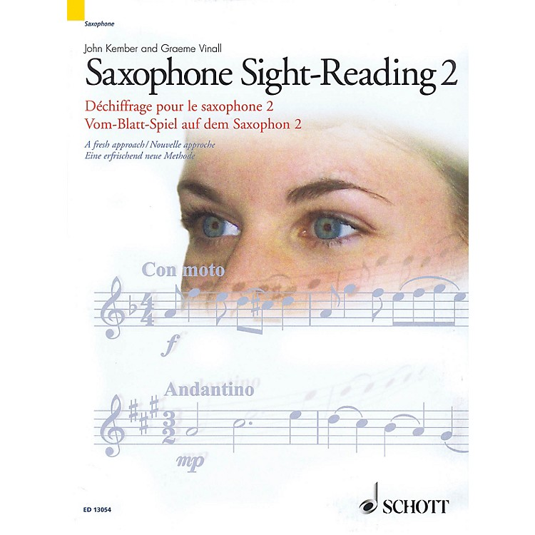 Schott Saxophone Sight-Reading 2 (A Fresh Approach) Schott Series Book