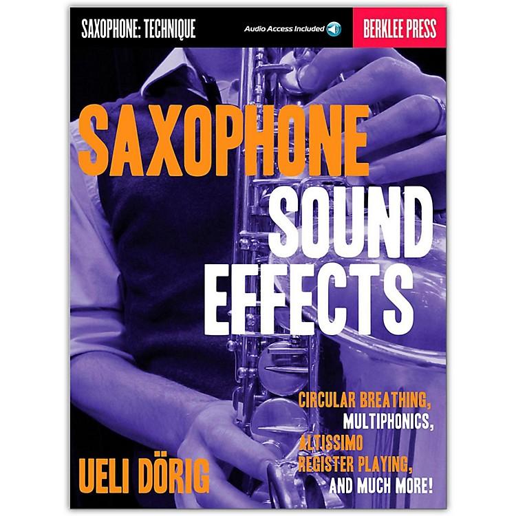 Berklee PressSaxophone Sound Effects (Book/Online Audio)