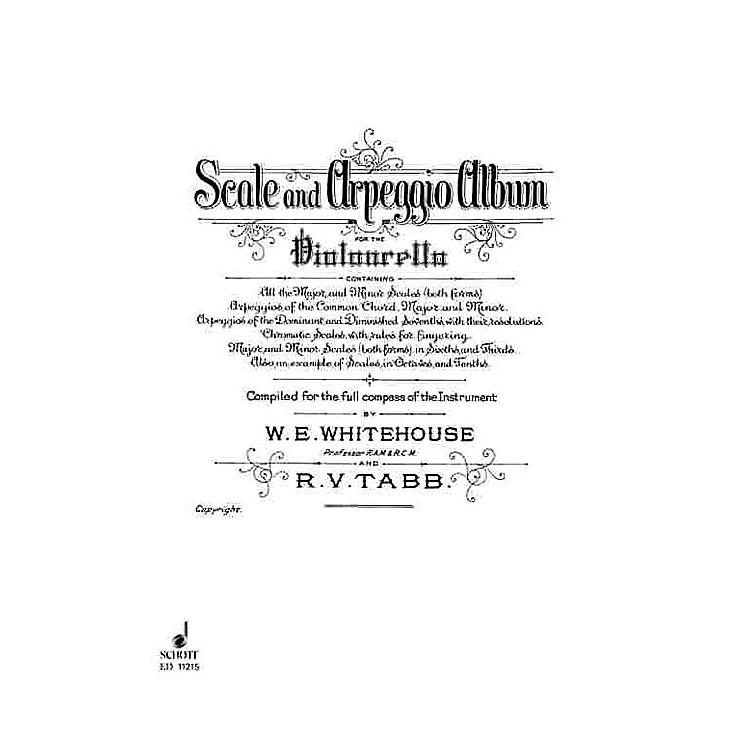 SchottScale and Arpeggio Album (Cello) Schott Series Composed by R.V. Tabb