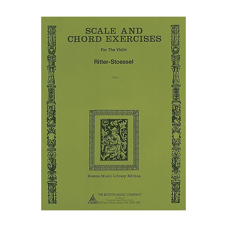Music Sales Scale and Chord Exercises for the Violin Music Sales America Series Written by Ritter-Stoessel