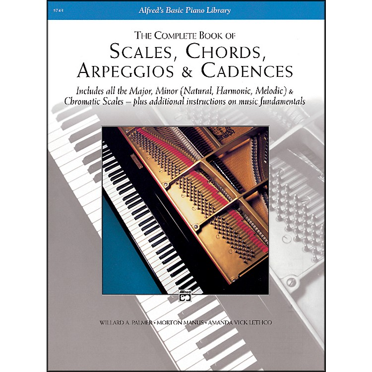 AlfredScales Chords Arpeggios & Cadences - Complete Book Complete Book