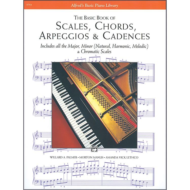 AlfredScales Chords Arpeggios & Cadences Basic Book Piano