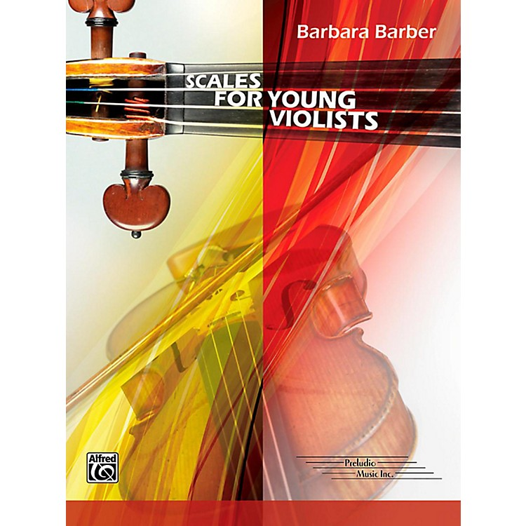 AlfredScales for Young Violists Book