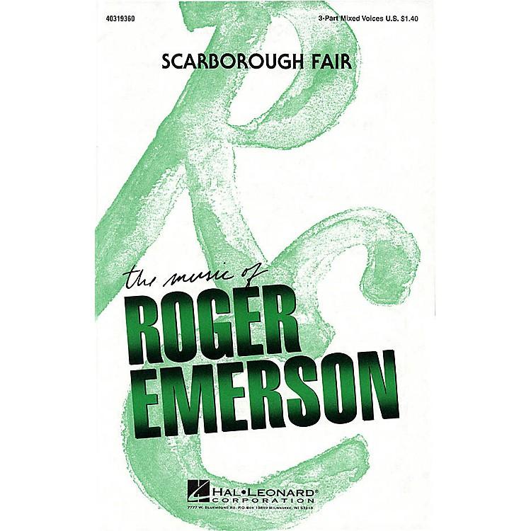 Hal LeonardScarborough Fair 3-Part Mixed arranged by Roger Emerson