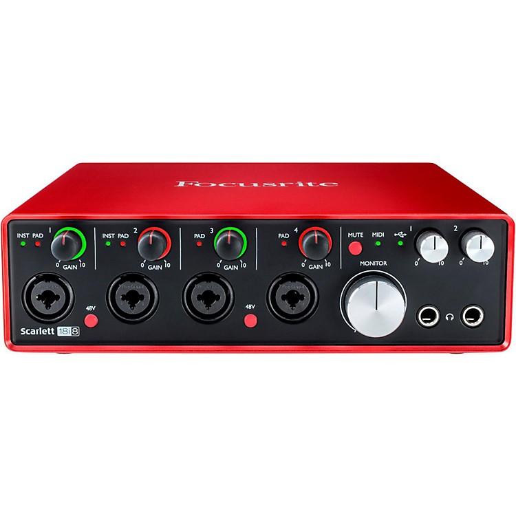 FocusriteScarlett 18i8 (2nd Gen) USB Audio Interface