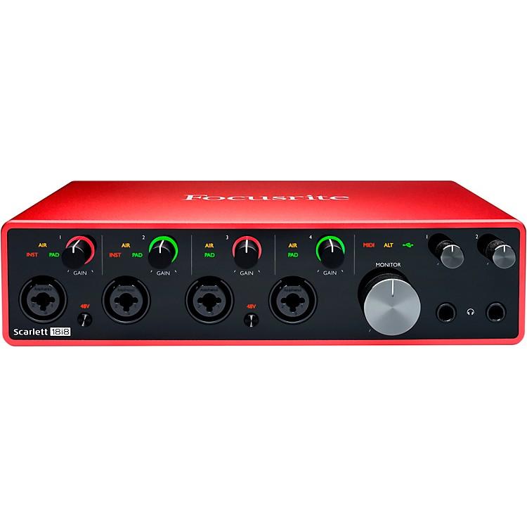 FocusriteScarlett 18i8 USB Audio Interface (Gen 3)