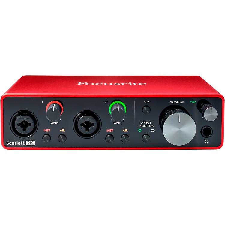 FocusriteScarlett 2i2 USB Audio Interface (Gen 3)