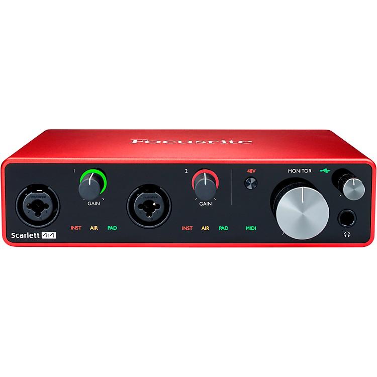 FocusriteScarlett 4i4 USB Audio Interface (Gen 3)