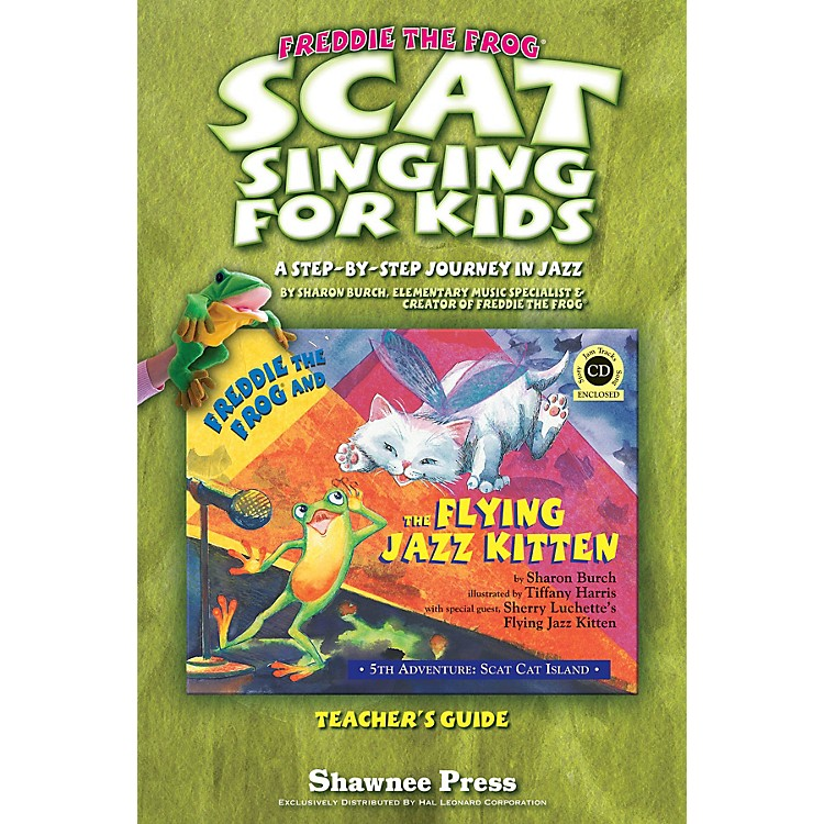 Hal LeonardScat Singing for Kids (A Step-By-Step Journey in Jazz) TEACHER Composed by Sharon Burch
