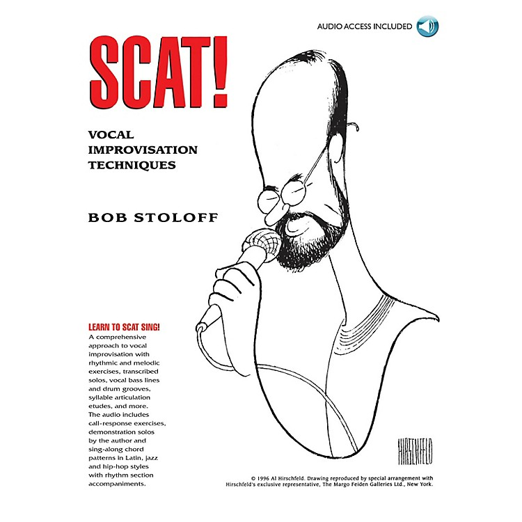 Music SalesScat! Vocal Improvisation Techniques Music Sales America Series Softcover with CD