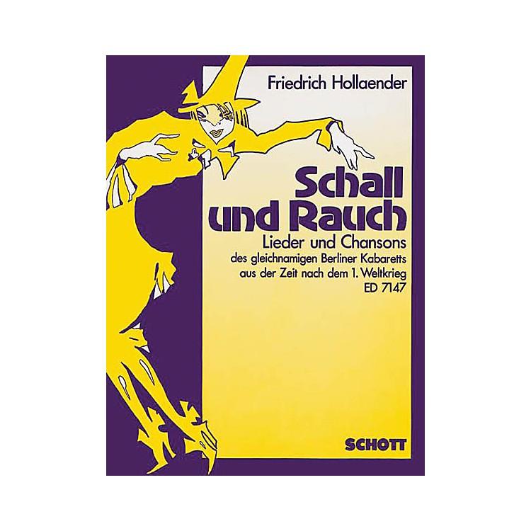 SchottSchall und Rauch (German Text) Schott Series  by Friedrich Holländer