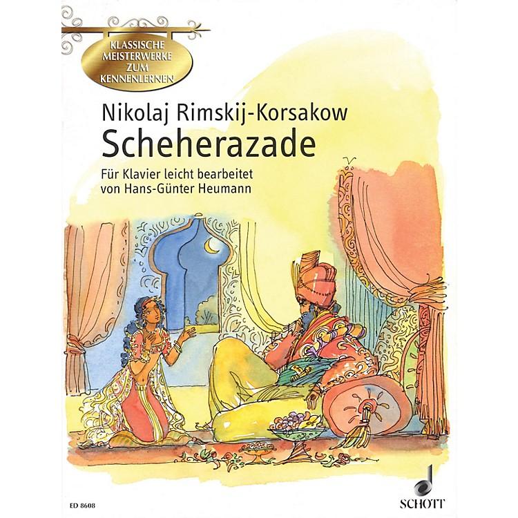 SchottScheherazade (Symphonic Suite for Orchestra, Op. 35) Schott Series