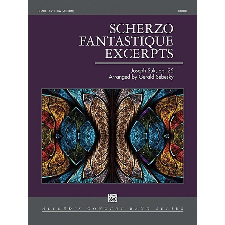 AlfredScherzo Fantastique Excerpts Concert Band Grade 3.5