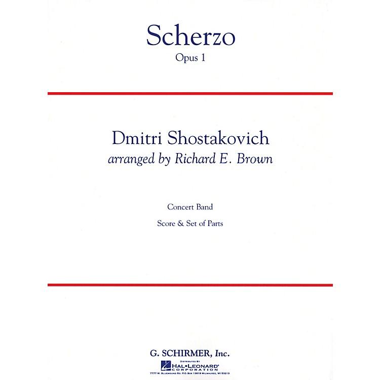G. SchirmerScherzo Op. 1 Full Score Concert Band