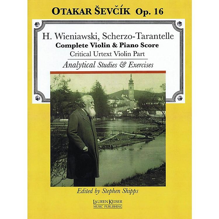 Lauren Keiser Music PublishingScherzo-Tarantelle LKM Music Series Softcover Written by Otakar Sevcik