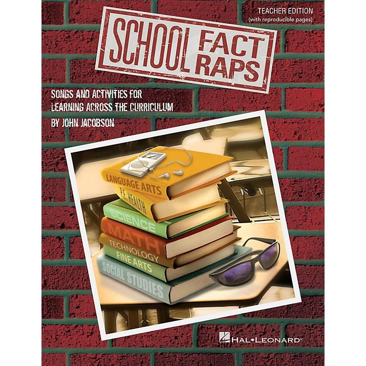 Hal LeonardSchool Fact Raps Performance/Accompaniment CD Composed by John Jacobson