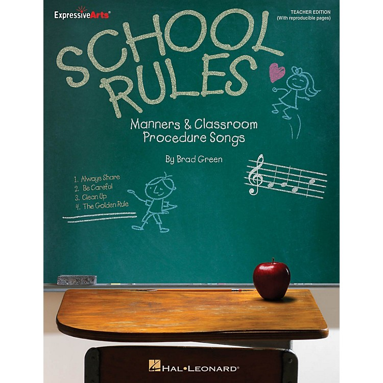 Hal LeonardSchool Rules (Manners and Classroom Procedure Songs) CLASSRM KIT Composed by Brad Green