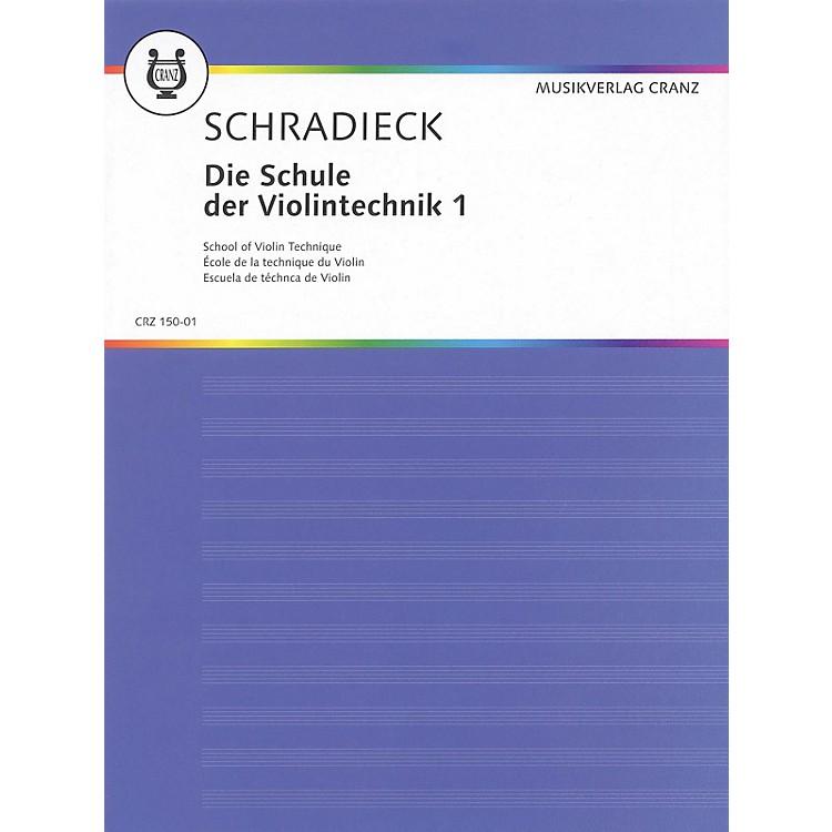 SchottSchool of Violin Technique - Volume 1 Schott Series Composed by Heinrich Schradieck