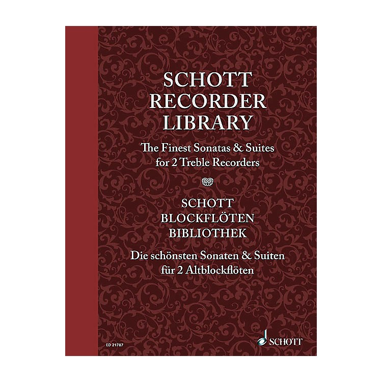SchottSchott Recorder Library Woodwind Series Softcover