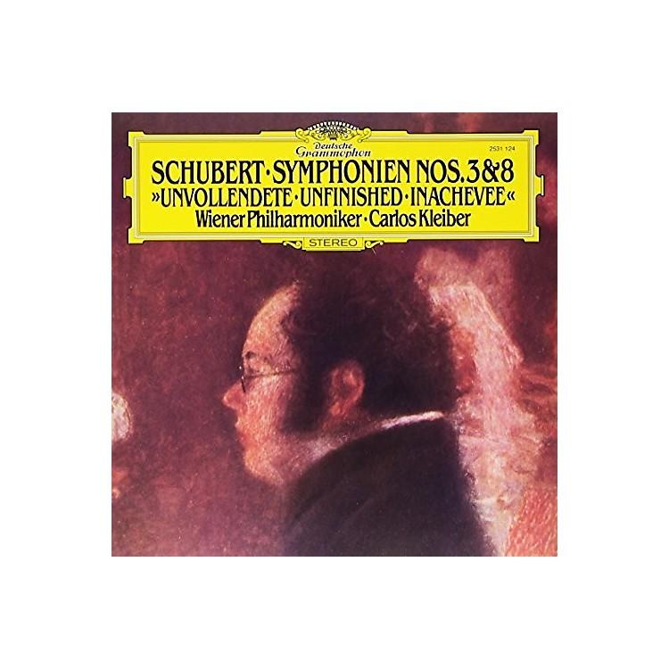 AllianceSchubert: Symphonies Nos 3 & 8 Unfinished